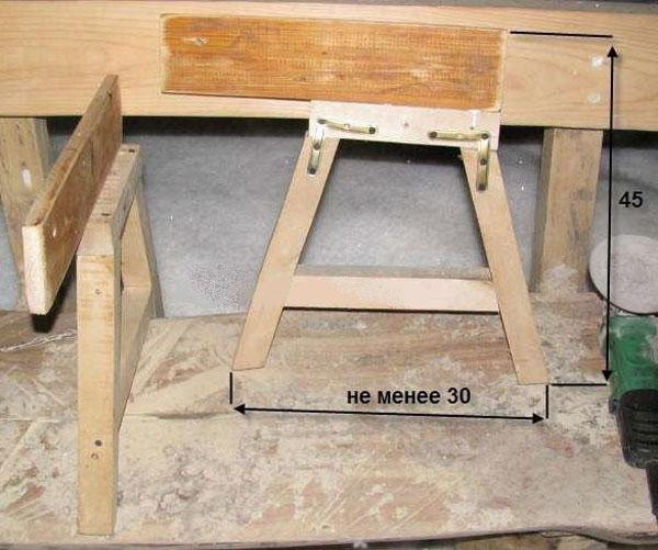 Фото готой конструкции кровати трансформера