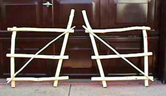 Спинки ивового кресла