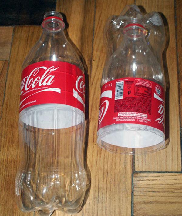 Фото изготовление конструкции из пластиковых бутылок