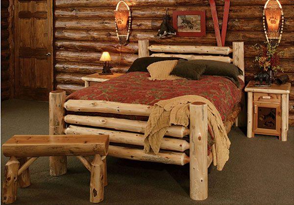 Фото кровати сделанной дома