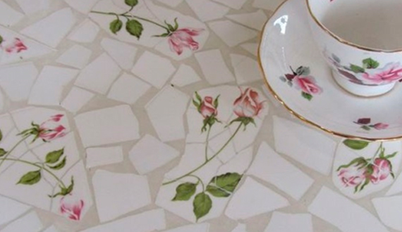 Мозаика стола