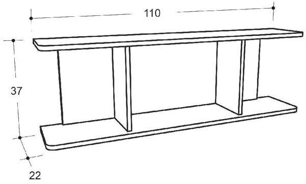 Фото чертежа полки в домашних условиях