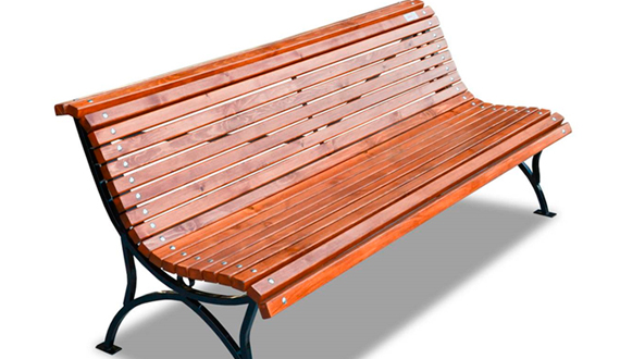 Скамейка из метелла