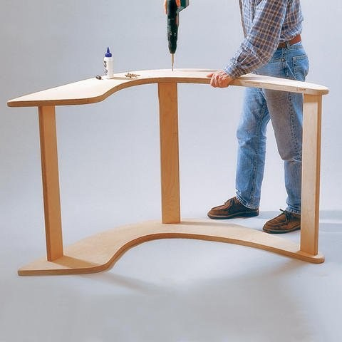 Изготовление кресла-качалки на двоих