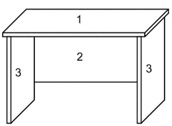 Фото чертеж стола