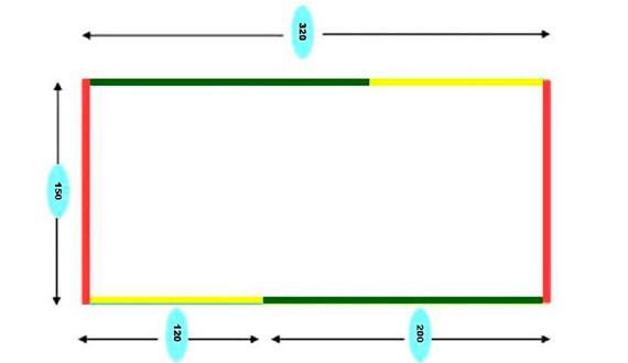 Схема гамака