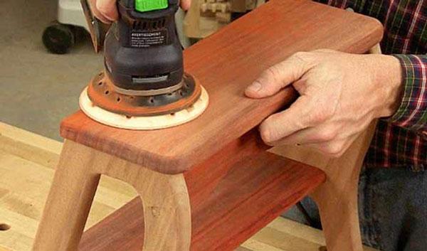 Фото обработки стула