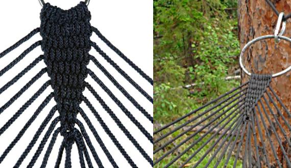 Плетение гамака