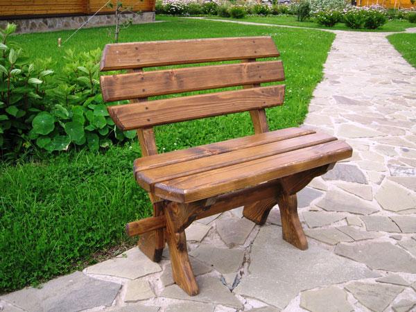Фото садовой скамейки