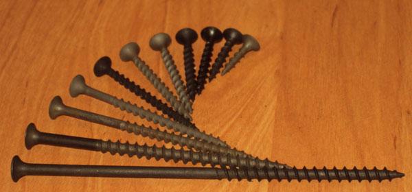 Фото саморезов для изготовления садовой лавочки