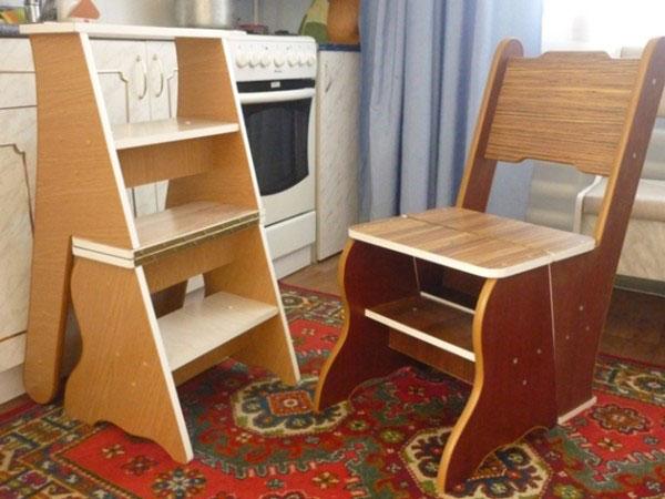 Фото стул в сборке