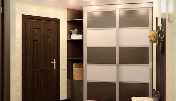 Шкаф в коридоре