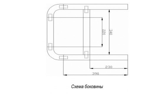 Схема-боковины