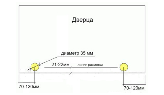 Тумба схема