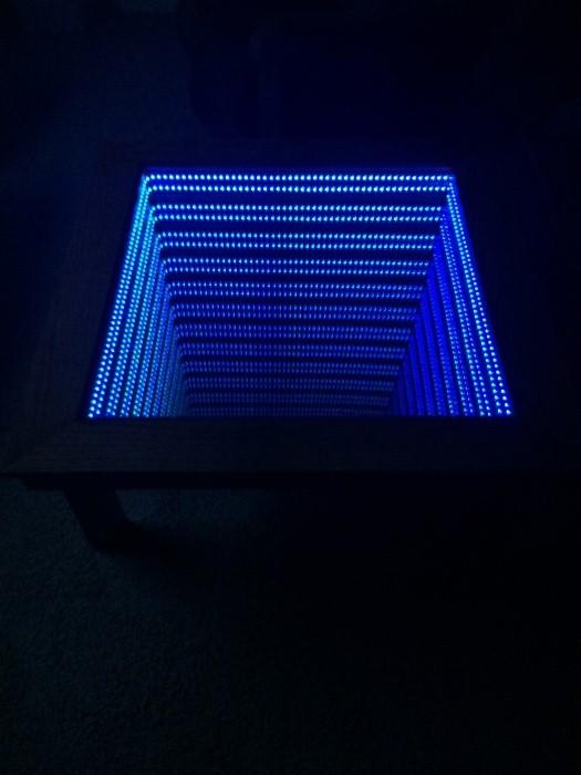 Уникальный столик бесконечности своими руками