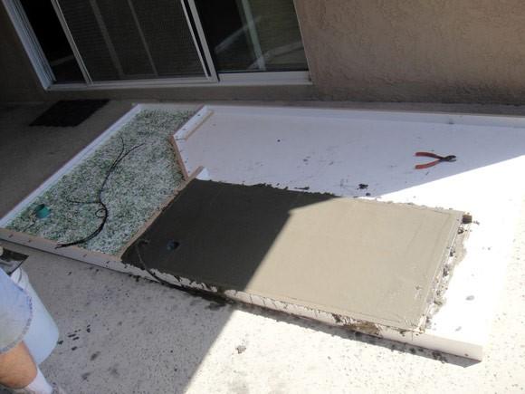 Подготовка и заливка бетонного раствора
