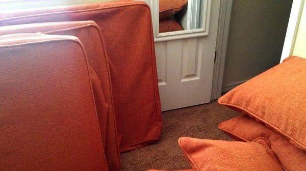 Собираем простой угловой диван