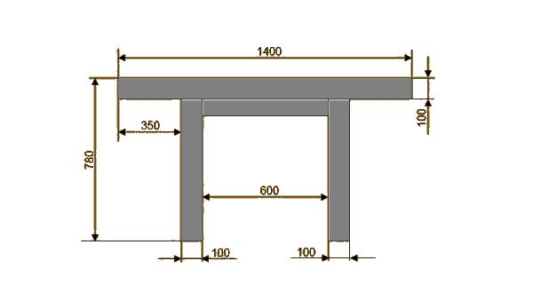 Технология изготовления обычного стола из древесины
