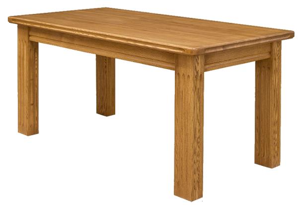 Обычный прямоугольный обеденный стол