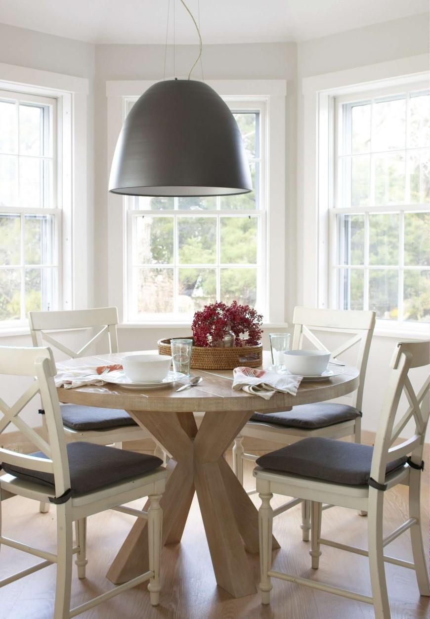 сделать добротный деревянный круглый стол