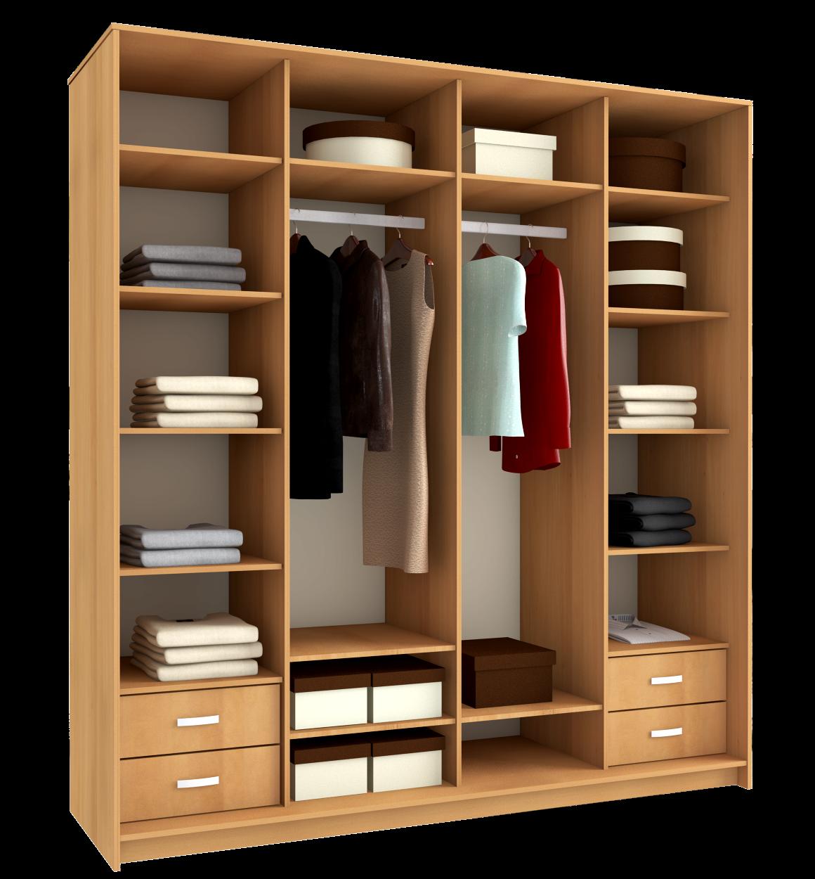 Как сделать удобные и вместительные полки в шкаф-купе