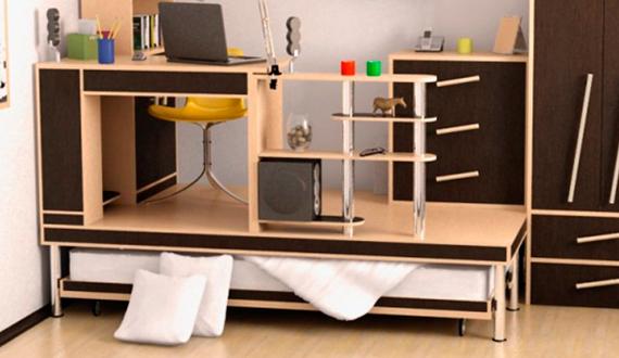 Кровать подиум для детской