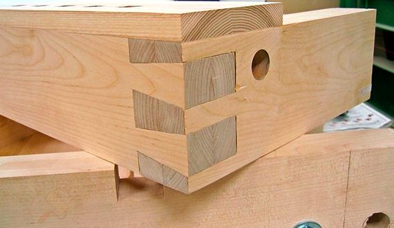 Соединение деревянных элементов