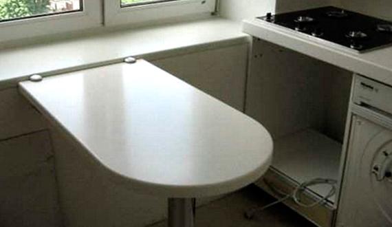 Откидной стол-подоконник