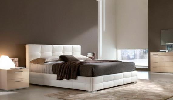 Кожа на кровати
