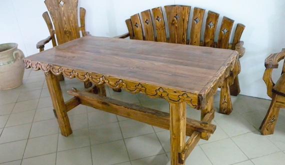 стол под старину стол своими руками за несколько дней