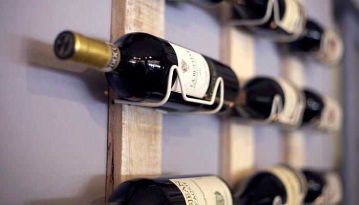 Полка для вина