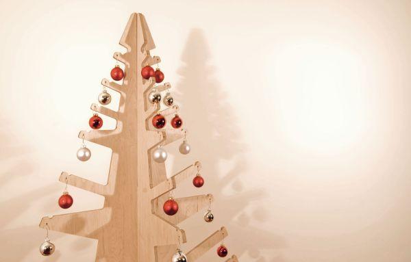 Современная елка в стиле модерн