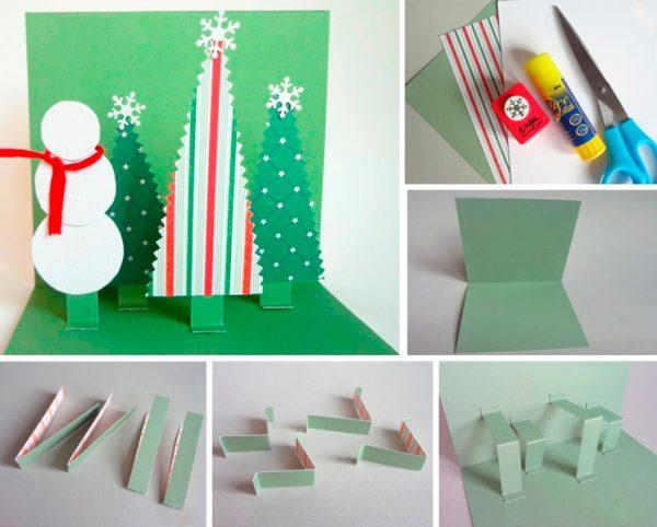 DIY - 10 идей для создания новогодней атмосферы