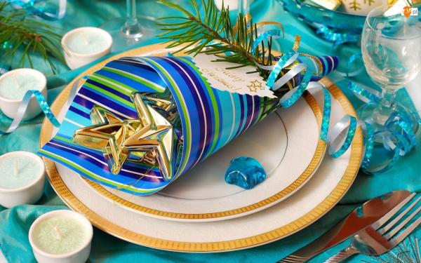 Идеи для красивой сервировки новогоднего стола