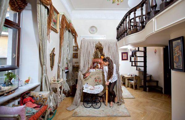 Как выглядит квартира Анастасии Мельниковой в Санкт-Петербурге