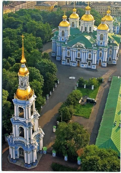 Здания в России в стиле барокко