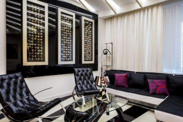Рассмотрим квартиру Бари Алибасова в Москве