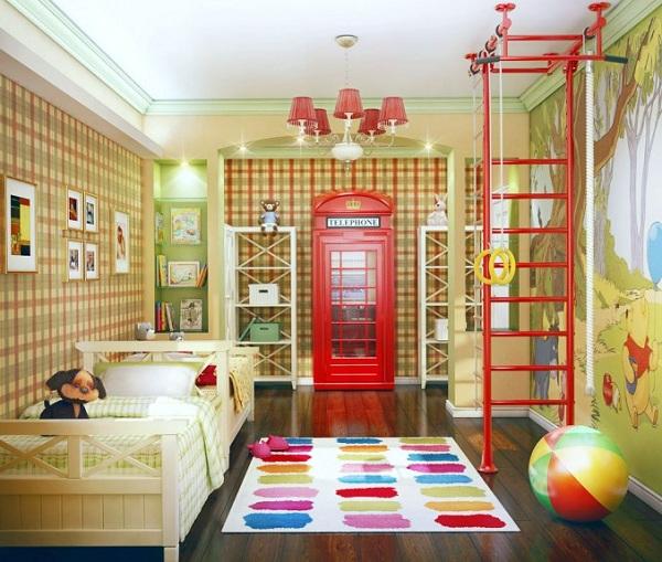 3 способа обустройства детской комнаты