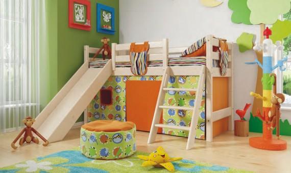 Разновидности детских кроватей-чердаков с рабочей зоной