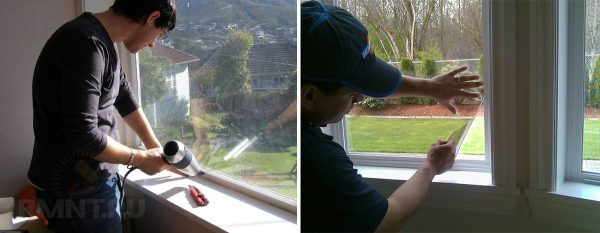 Как утеплить пластиковые окна на зиму своими руками