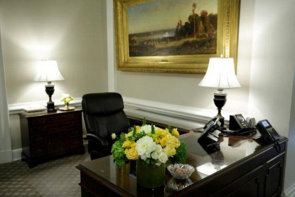Интерьер Белого дома США