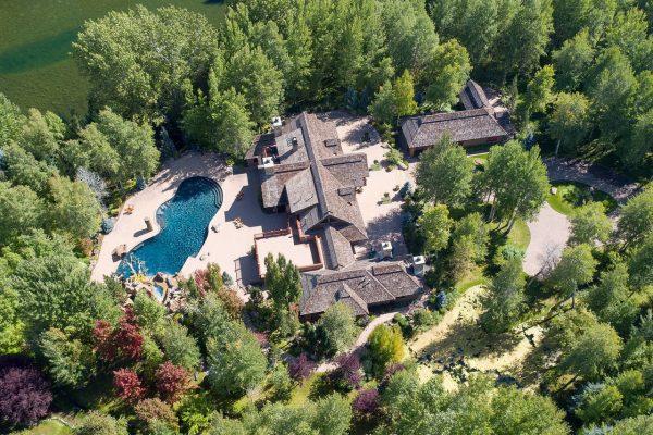 Роскошные дома Брюса Уиллиса