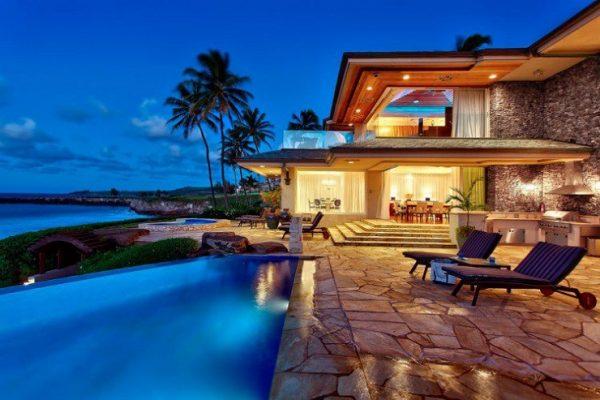 Самые дорогие дома в мире у моря