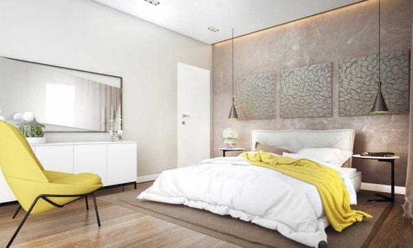 Модные акценты 2019 года в дизайне спальни