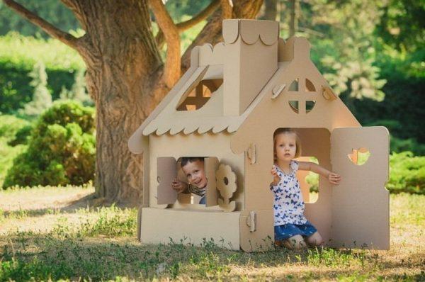 Детский домик своими руками: нюансы