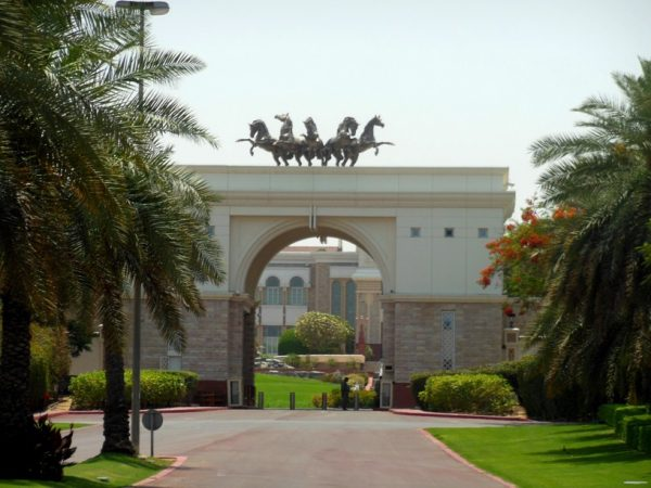 Сказочный дворец Мохаммеда - Эмира Дубая