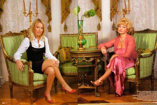 Рассмотрим дома Собчак и Максима Виторгана