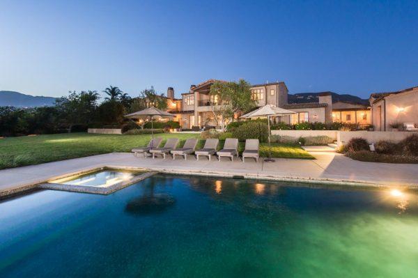 Огромный дом Леди Гаги в Малибу