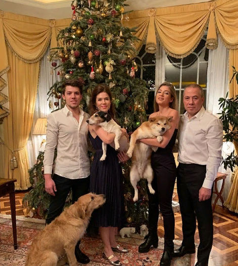Роскошный дом Аркадия Новикова