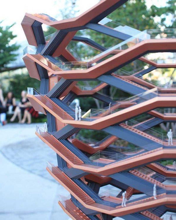 Бесконечная лестница в Нью-Йорке - новая достопримечательность